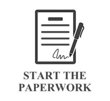START THE PAPER WORK ICON