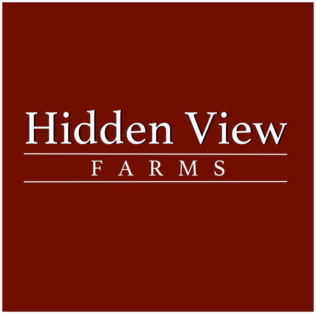 hidden view farms logo